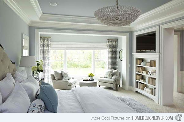 15 Ideas In Designing A Bedroom With Bookshelves Home Design Lover Remodel Bedroom Contemporary Bedroom Home Bedroom