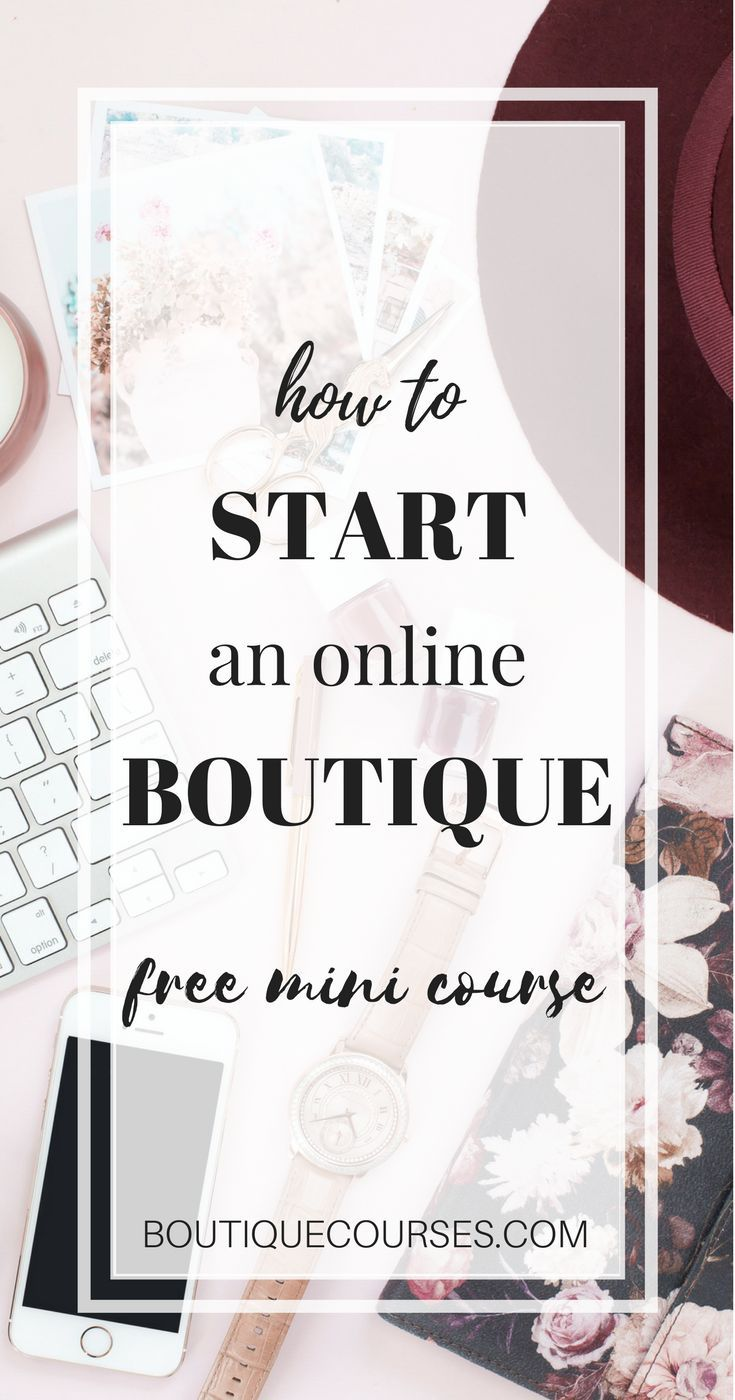 4bd4a1a4d Free Mini Course | How To Start An Online Boutique Using Shopify + Find  Wholesale Boutique