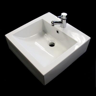 Awesome Square Vessel Sink Home Depot 183 Acri Tec Square Interior Design Ideas Pimpapslepicentreinfo