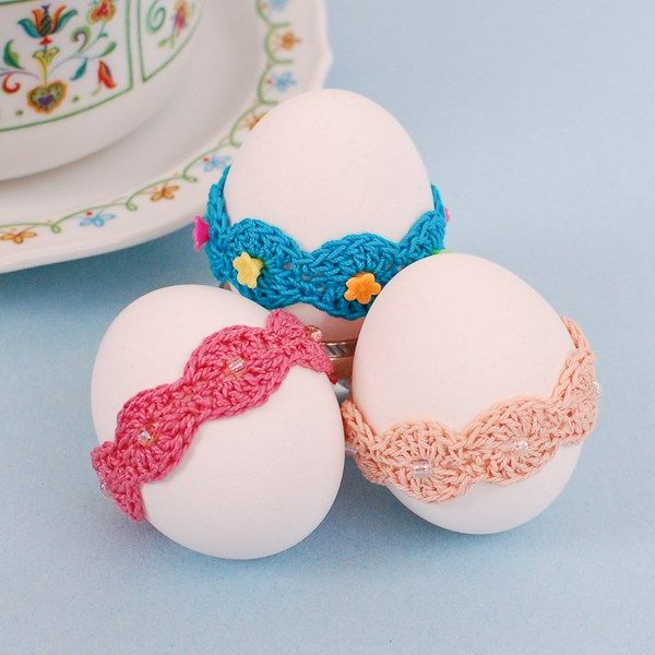 1.easy quick crochet easter free pattern egg decor