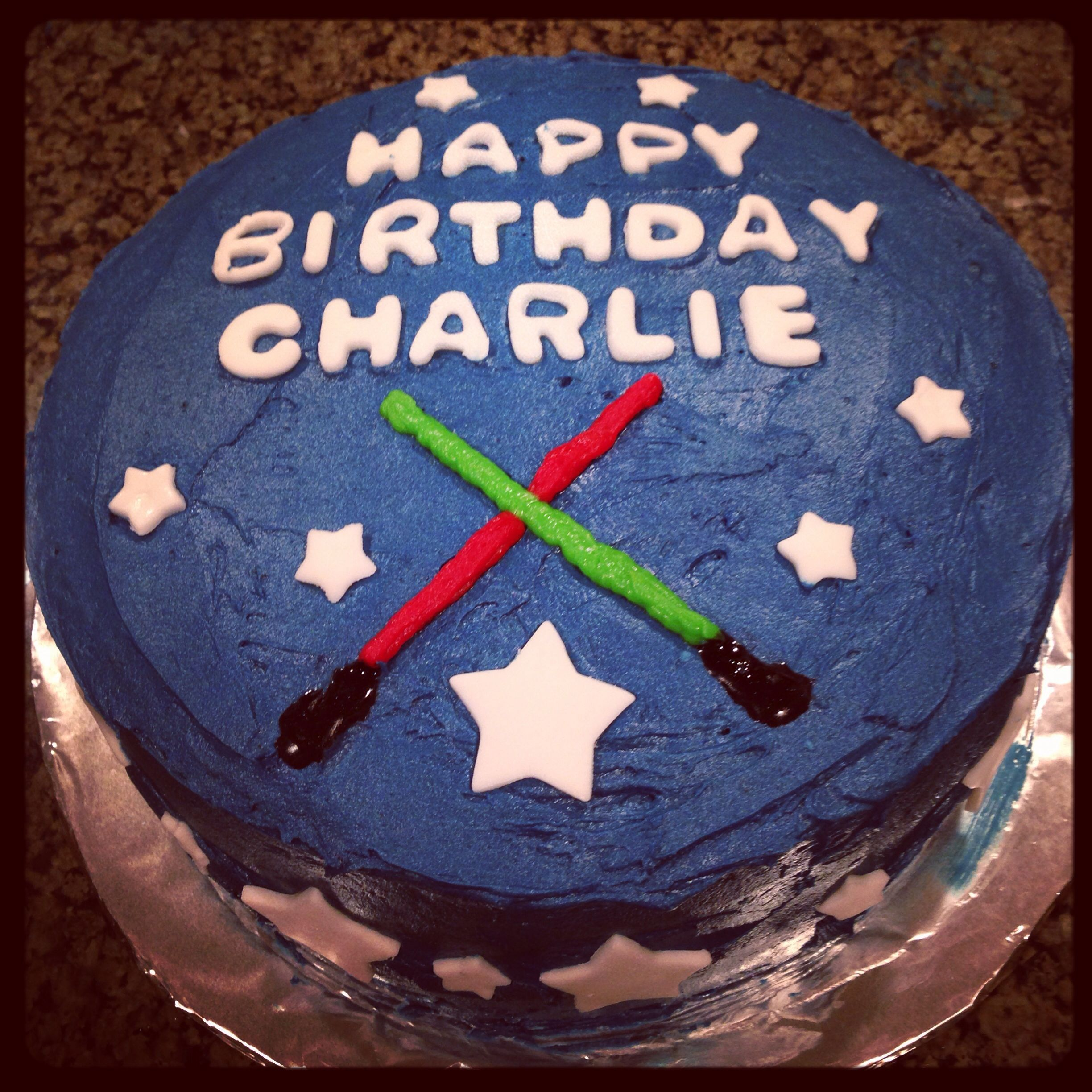Easy Star Wars Birthday Cake Kids Love It Star Wars Birthday