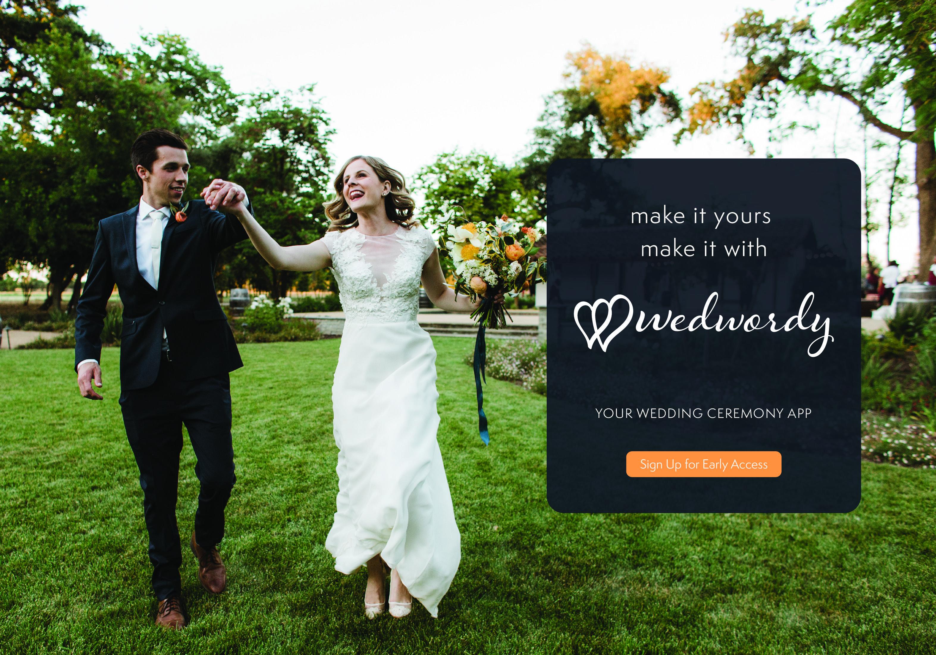 Your Wedding Ceremony App! Photo En Pointe Photography