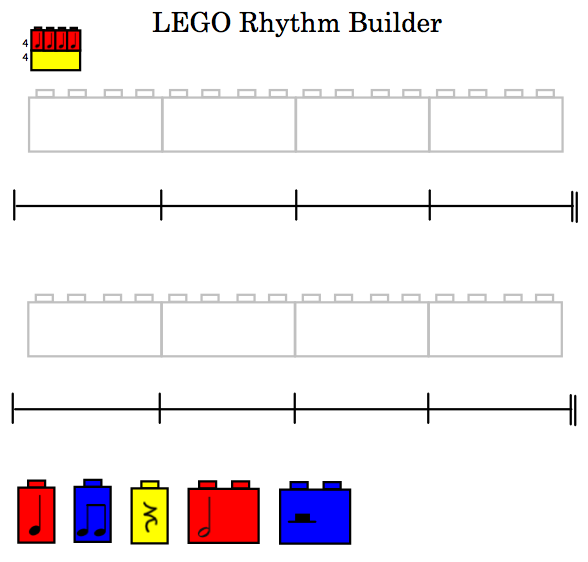 Use These Smartboard Files To Compose Rhythm Patterns With Students Magnificent Rhythm Patterns