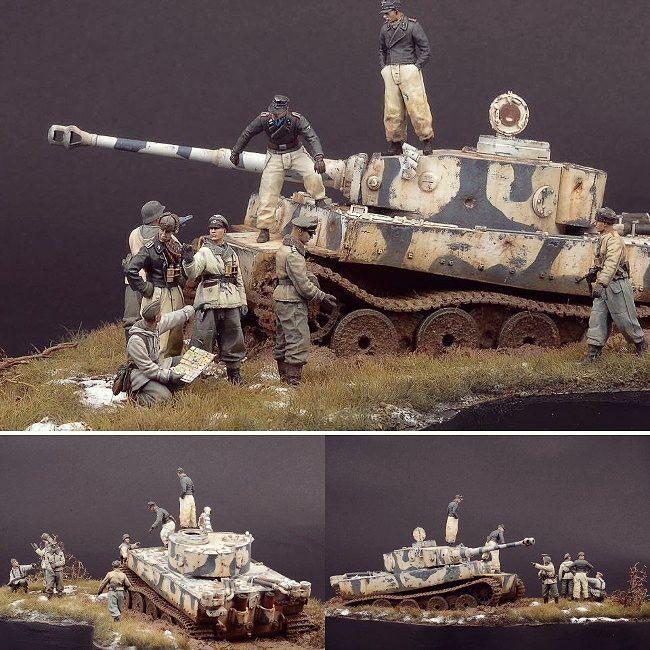 Twitter Dioramas Vehículos Militares Miniaturas