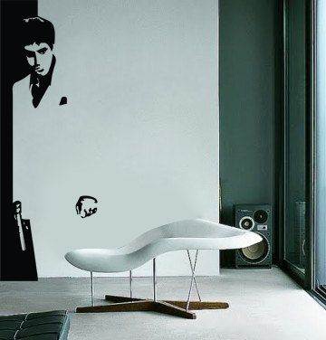 Items similar to Scarface Wall Decal - Vinyl Wall Art on Etsy : scarface wall decal - www.pureclipart.com