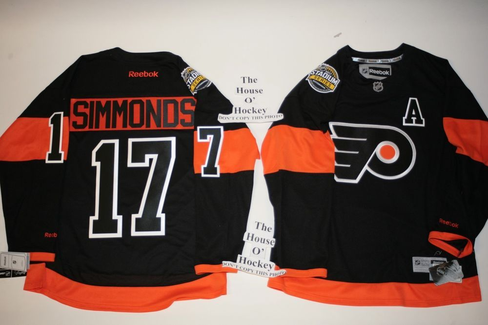 Simmonds Philadelphia Flyers Reebok 2017 Stadium Series Premier Jersey  SMALL  Reebok  PhiladelphiaFlyers 79cc1da5a
