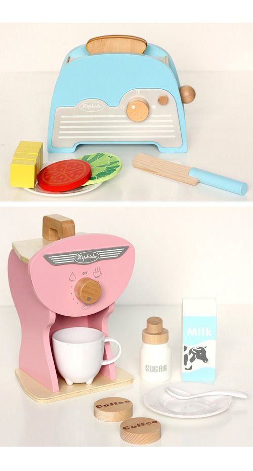 Hip Kids Retro Toy Kitchen Accessories