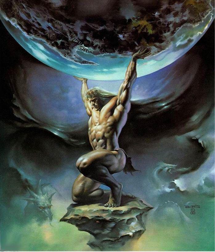 Atlas: The greek god who bore the weight of the World. | Greek mythology,  Greek and roman mythology, Greek gods