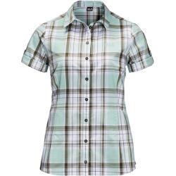 Photo of Jack Wolfskin blouse women Maroni River Shirt Women Xxl blue Jack Wolfskin