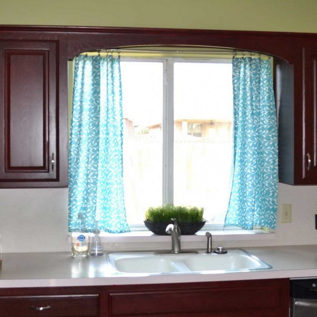 Modern contemporary kitchen curtains