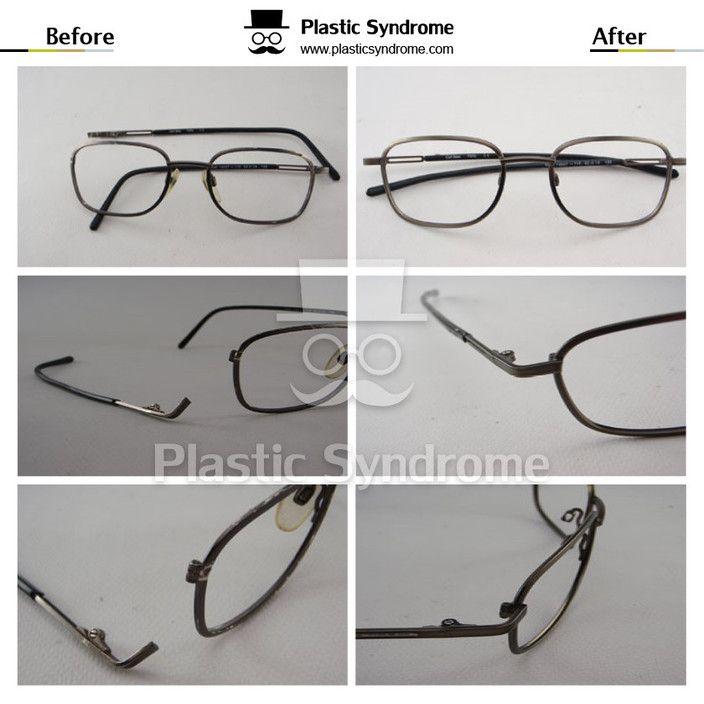 Metal welding - Plastic Syndrome. Glasses & Sunglasses frame repair ...