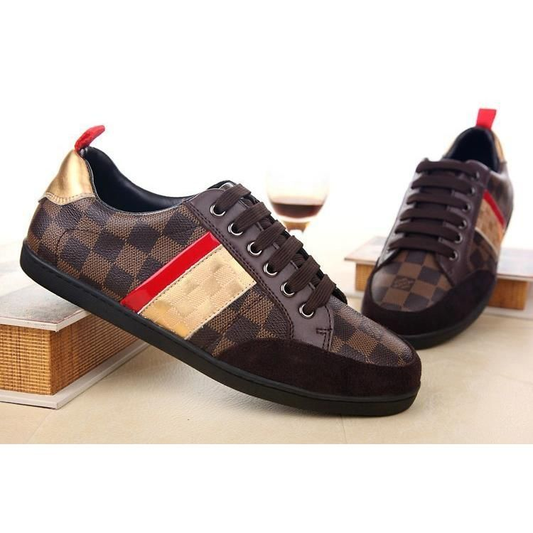 04f4aebe7ef2 Louis Vuitton LV Leather shoes for men