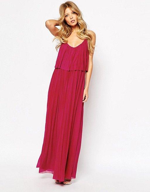 9265013af5 Mango Pleated Maxi Dress