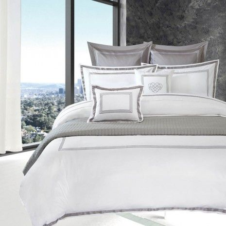 Palace Hotel Bedding Collection Solids Decorative Pillows Cushions Decor Hotel Collection Bedding Bedding Master Bedroom Hotel Bed