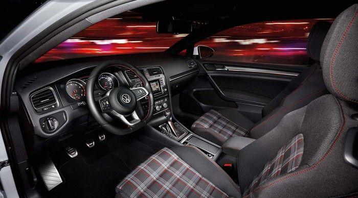 Volkswagen Golf GTI Clubsport intérieur