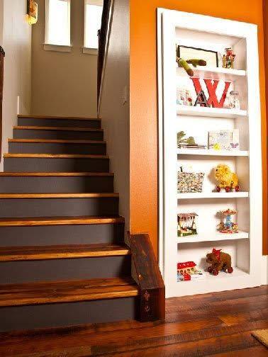 Escalier Peint : Inspiration Couleur Et Déco | Escaliers