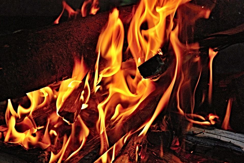 Free Image On Pixabay Fire Flames Wood Burning Flame Cozy