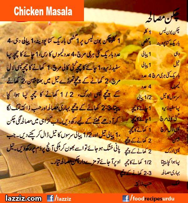 Chicken Masala Recipes In Urdu English Handi Tv Zubaida Tariq Ramadan Ramzan Eid Special