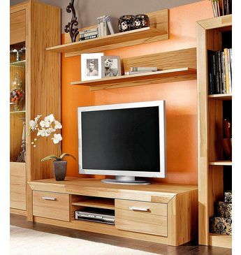 Set Lowboard und Wandregale (3-tlg) TV/Phono-Möbel Jetzt bestellen