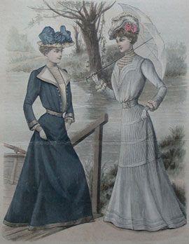 28d92cee36e6 Abiti Antichi - Storia della Moda 1901-1909