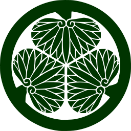 ファイル Mitsubaaoi Svg 家紋 紋章 徳川幕府