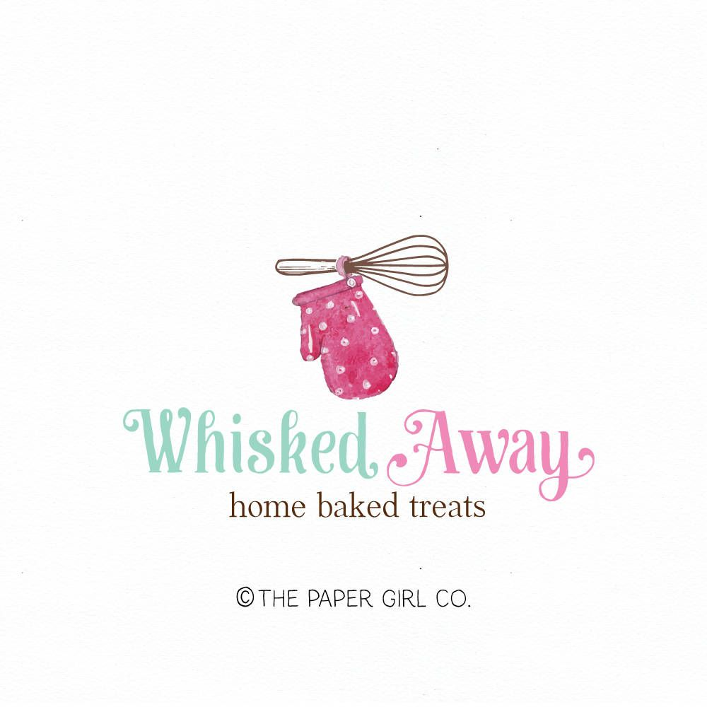 whisk logo rolling pin logo baking logo bakery logo bakers