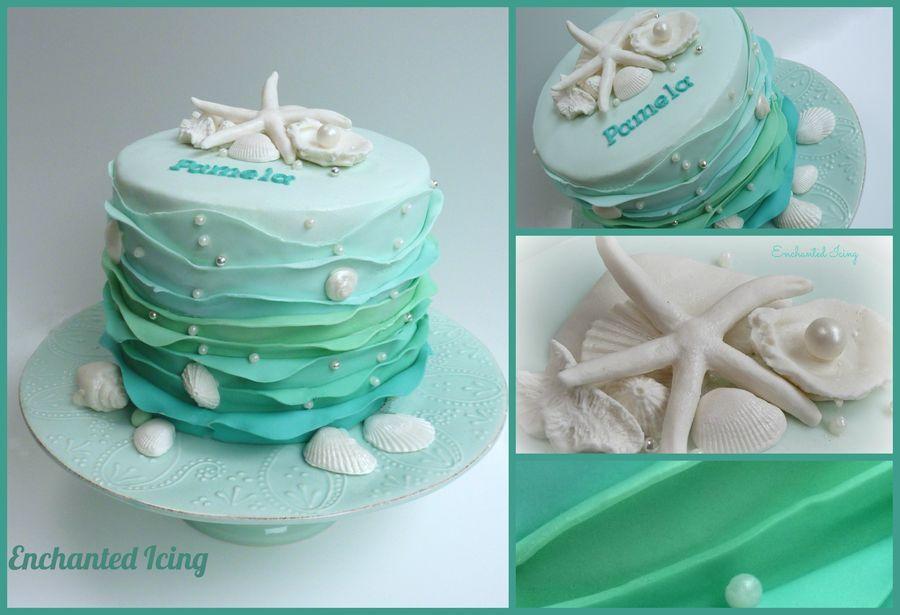 Birthday at the Beach Birthday Cakes Cake Love Pinterest