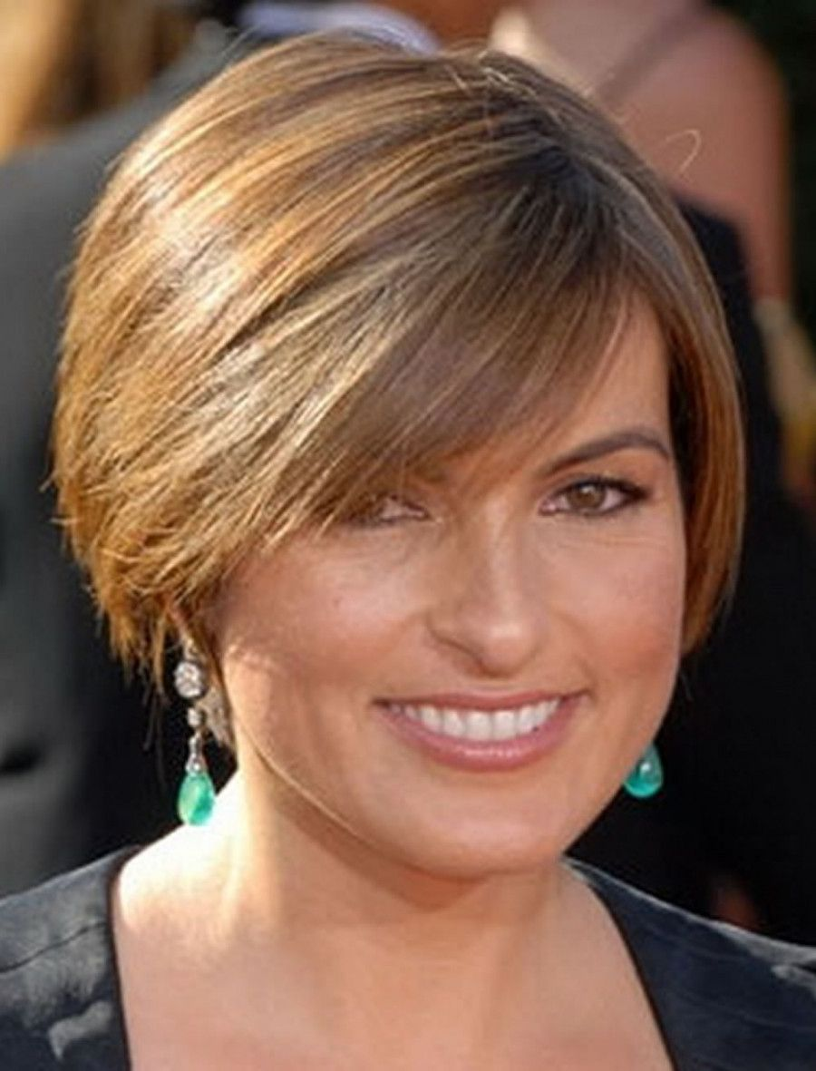 The Picture You Are Seeking At Is Short Haircuts For Round Face Thin