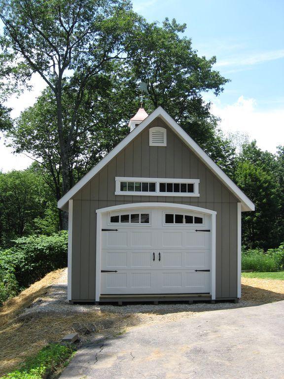 Garages En Bois Backyard Garage Garage Door Styles Garage Style