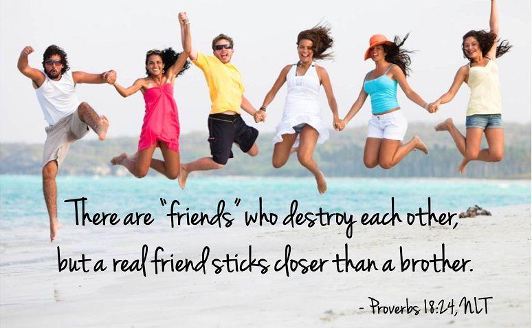 true friendship bible quotes