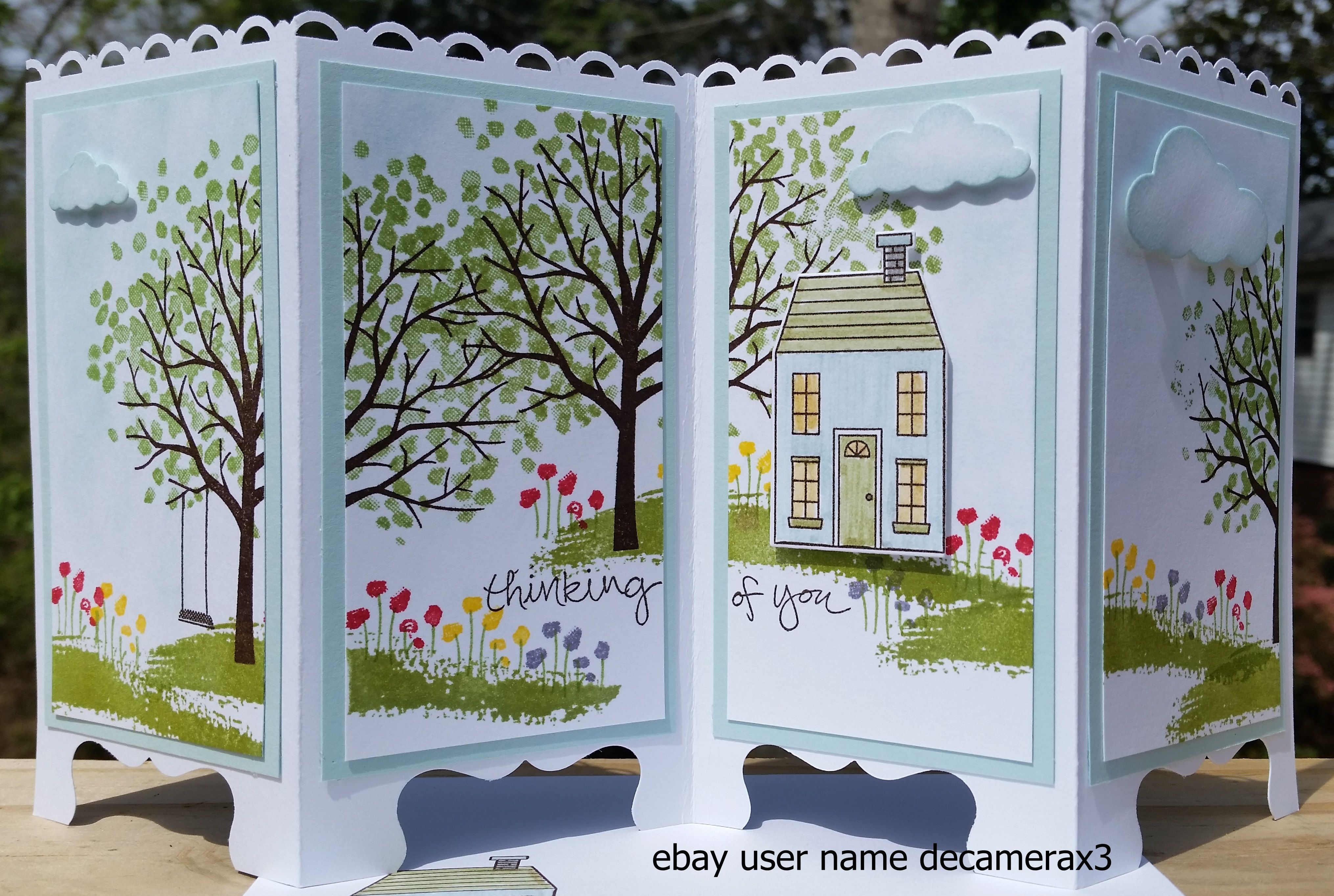Screen Divider Greeting Card