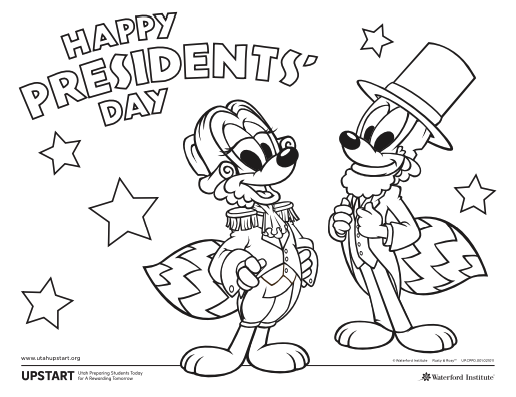 President S Day Coloring Page Coloring Pages Chicken Coloring Book Presidents Day