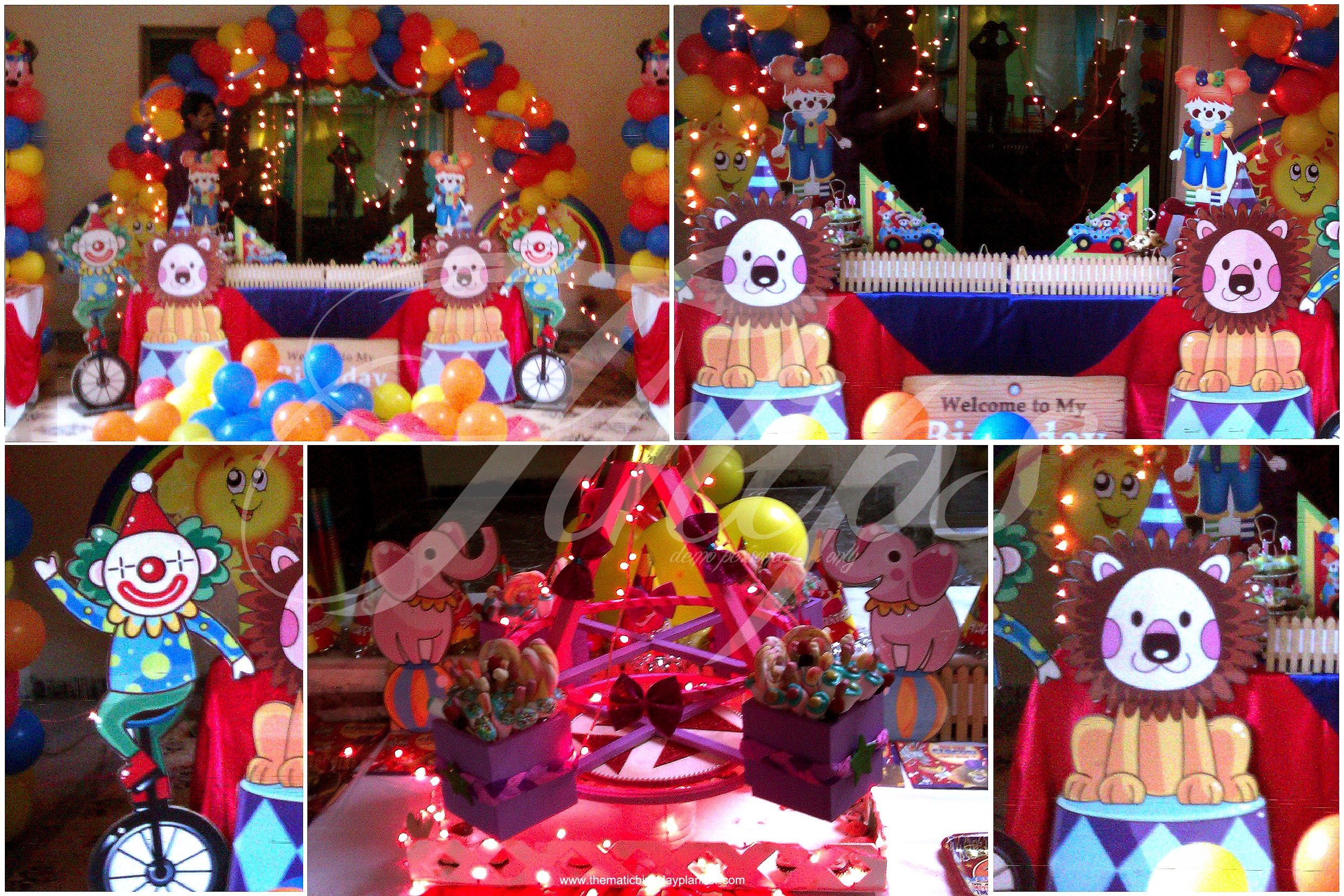 Mega carnival circus themed birthday party decoration setup ideas for more http www - Carnival theme decoration ideas ...