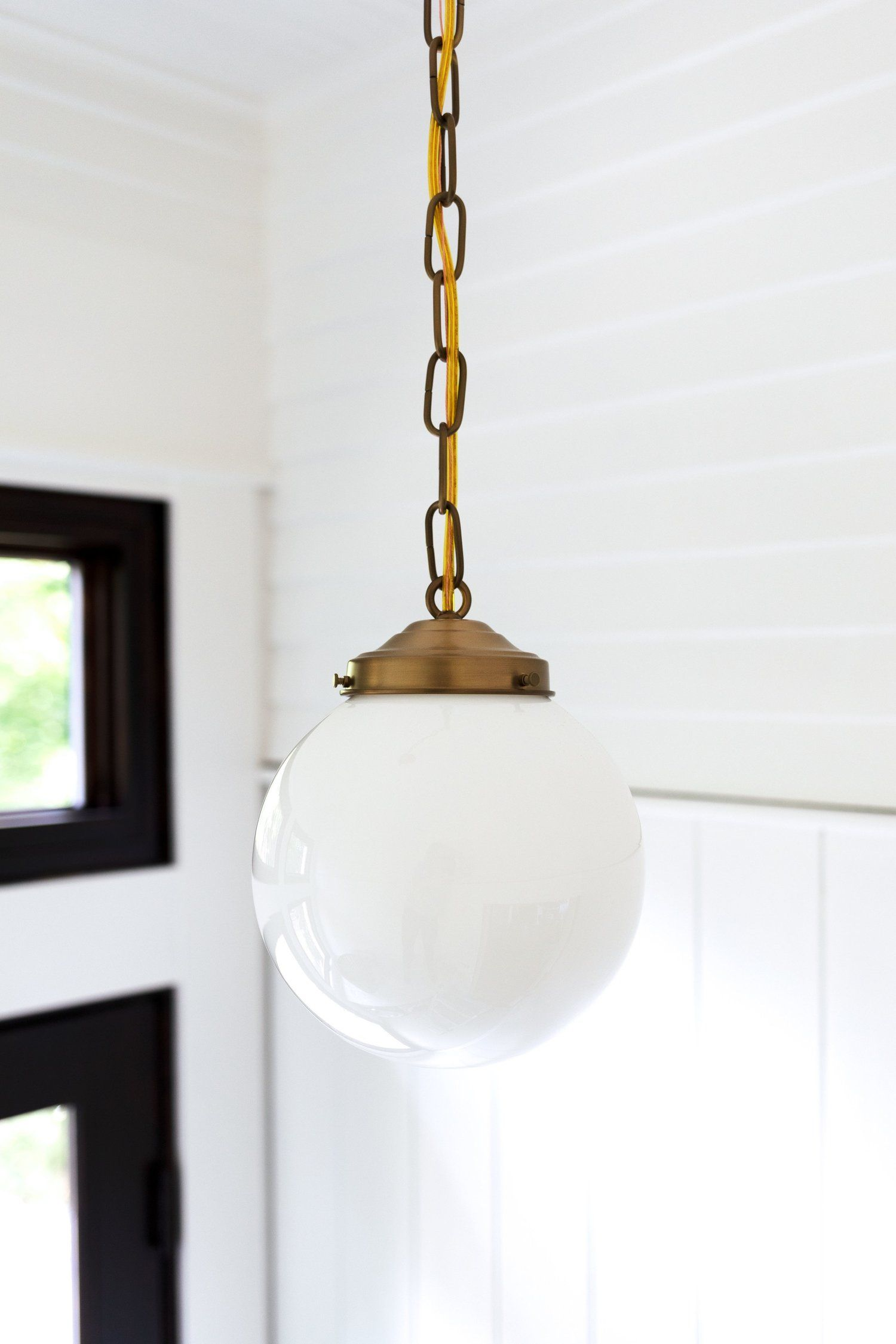 How to Center An Off-Center Ceiling Light (Without Moving ...