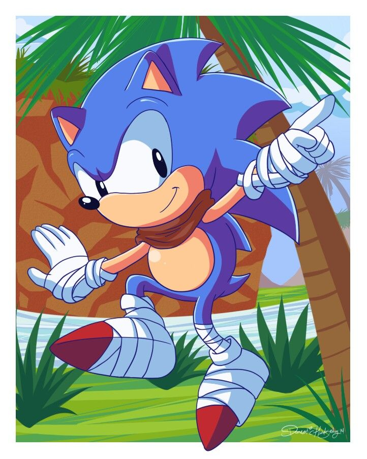 Classic Sonic............Boom.........Why Just why?
