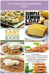 LowCarb Easy Cheesy Zucchini Bake this has been the most popular lowcarb z