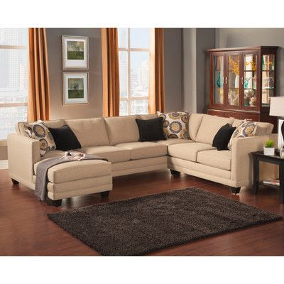 Darby Home Co Springboro Sectional Upholstery  sc 1 st  Pinterest : darby sectional - Sectionals, Sofas & Couches