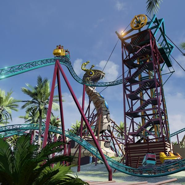 Cobra S Curse Spinning Roller Coaster Coming To Busch Gardens