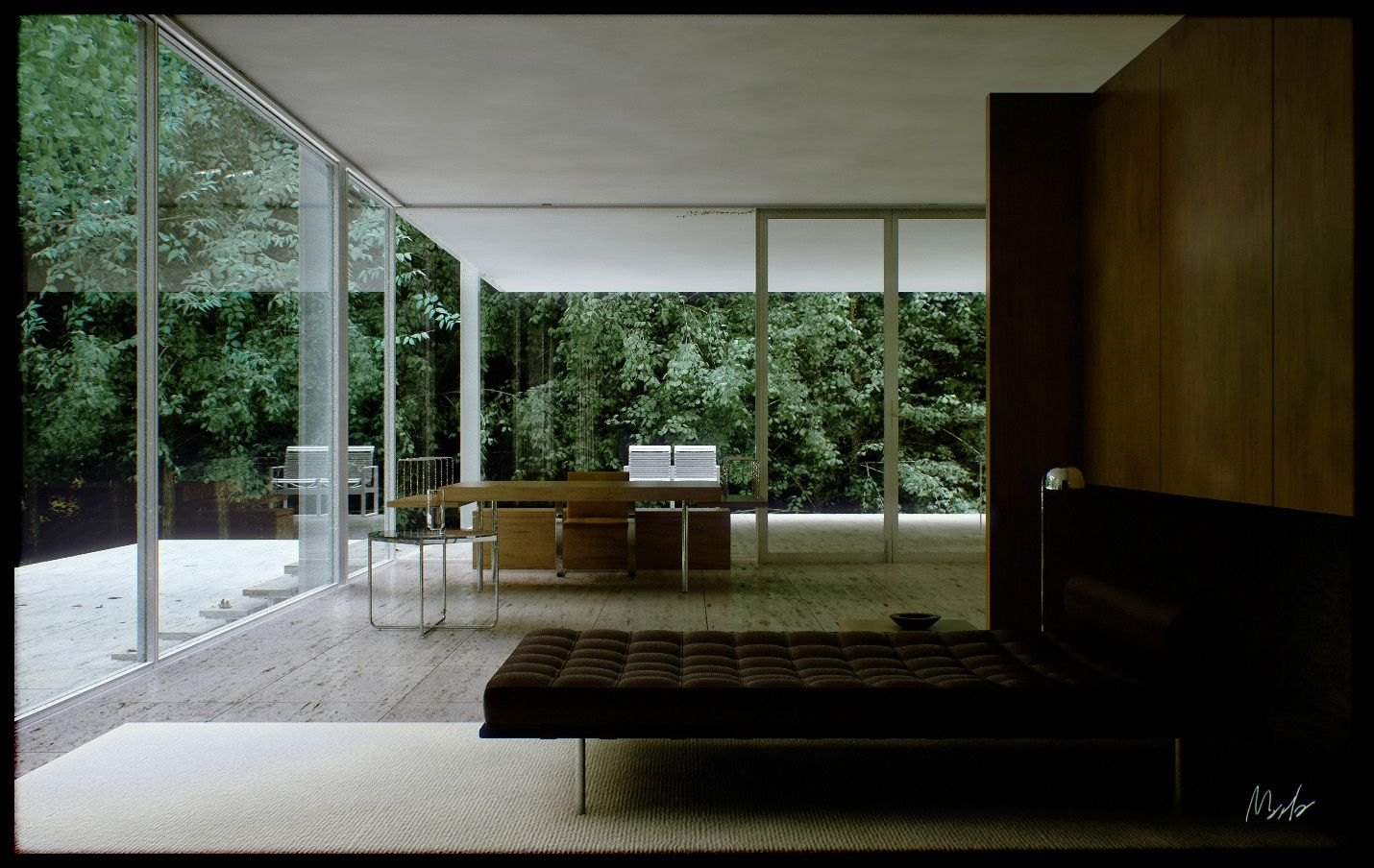 ludwig mies van der rohe farnsworth house farnsworth. Black Bedroom Furniture Sets. Home Design Ideas