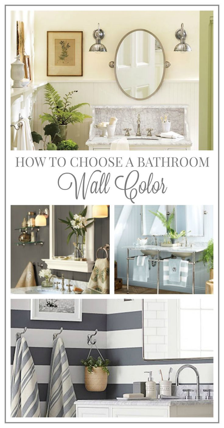 How to Choose a Wall Color for Your Bathroom  homedecor  decor     How to Choose a Wall Color for Your Bathroom  homedecor  decor  bathroom