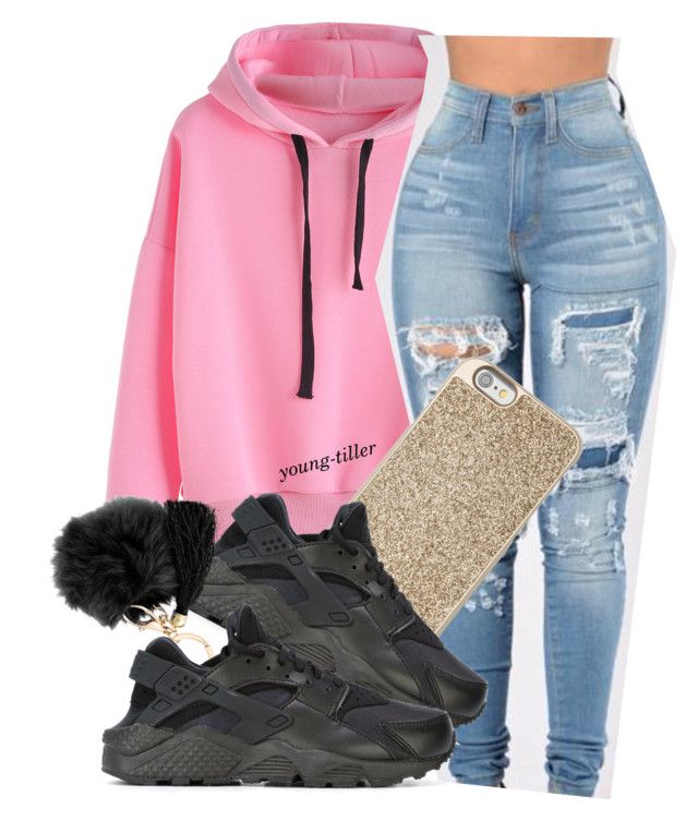 """""""Girl I'm done with you ✋"""" by young-tiller ❤ liked on Polyvore featuring Michael Kors and NIKE"""