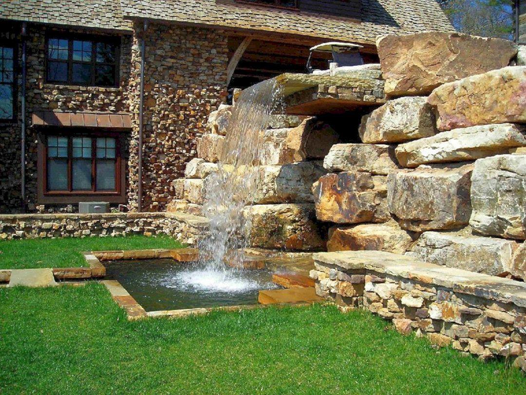 14 DIY Backyard Waterfall Ideas That Will Make Your Garden More Cool