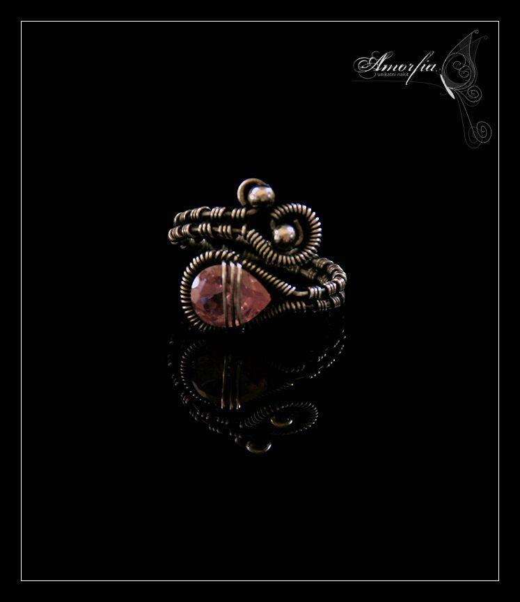 Pink topaz ring by amorfia on deviantART