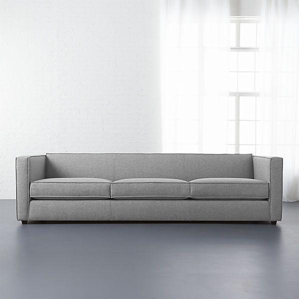 Club 3 Seater Sofa Cb2 Sofa Colors Low Profile Sofa Modern Sofa