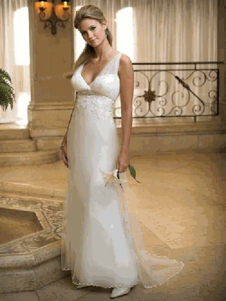 Informal Wedding Dresses Second Marriage