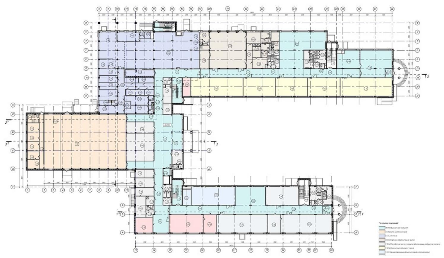 Проект строительства общеобразовательной школы на 550 мест ...