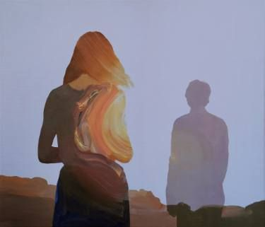 "Saatchi Art Artist Jarek Puczel; Painting, ""Beloved"" #art"