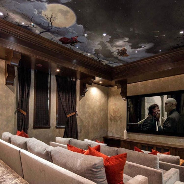 Estate In Bradbury By Meredith Baer Home Photographed By Mathew Momberger Beautifulhomes Us Exterior Exteriordesign Luxuryliving Luxuryhomes Housestyle Home Theater Seating Home Theater Decor Home Theater Design