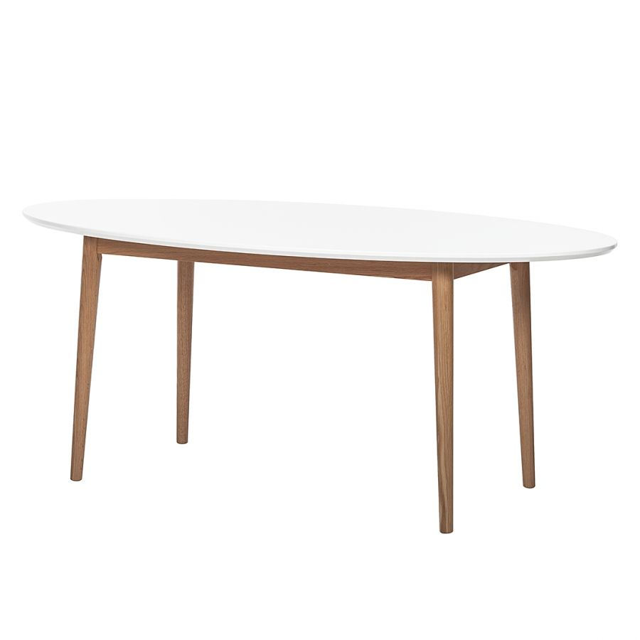 Esstisch Oval Weiß Esstisch Lindholm I Luca Office Design Table Living Room