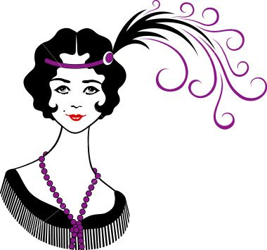 pin by susan wronka on 1920 s the look pinterest flappers girl rh pinterest com au 1920s dress pattern clip art 1920s dress pattern clip art